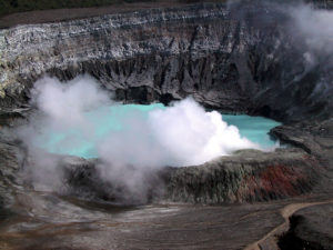 Poas Volcano National Park Costa Rica is NOW OPEN